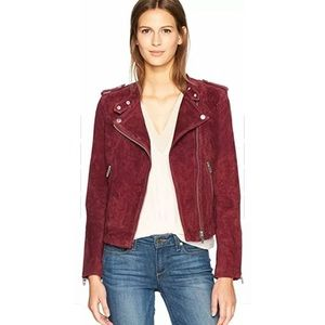 BlankNYC Suede Moto Leather Jacket Sz Small